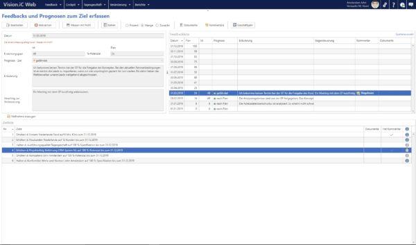 Screenshot Vision.iC Target