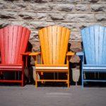 Positionierung Stühle